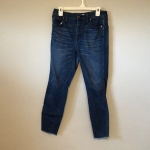 Madewell High Rose Skinny Jeans size 30